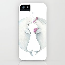 Whale you take me? iPhone Case
