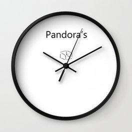 Pandora's Wall Clock