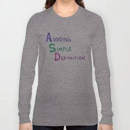 ASD Acronym Long Sleeve T-shirt