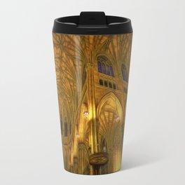 Golden Light Cathedral Travel Mug