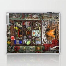 Creepy Cabinet of Curiosities Laptop & iPad Skin