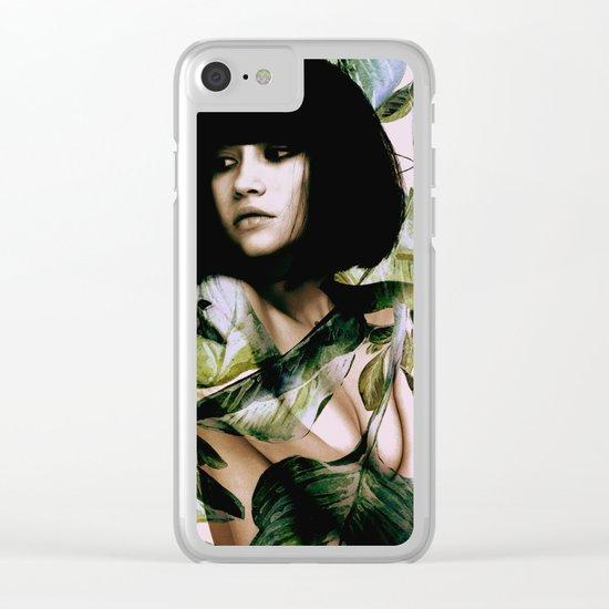 In Bloom II Clear iPhone Case