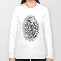 tribal Long Sleeve T-shirts featuring Tribal by Bethany Mallick