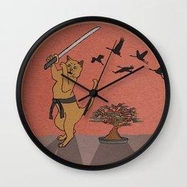 Karate Kat Wall Clock