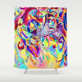 Wassily Kandinsky Fugue Shower Curtain