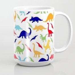 Colorful Dinosaurs Pattern Coffee Mug