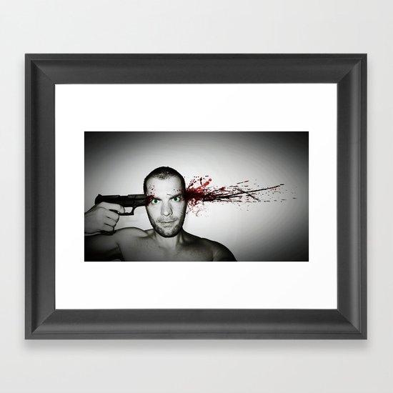 Bang... Framed Art Print