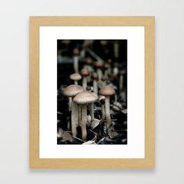 Shroomies Framed Art Print
