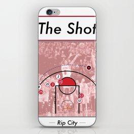 The Shot Series - Damian Lillard iPhone Skin