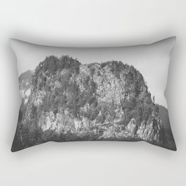 Beacon Rock -  Adventure Awaits Rectangular Pillow