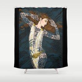 Dance, dance Shower Curtain