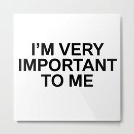 ME 001 Metal Print