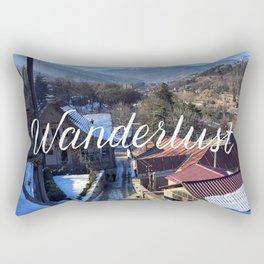 Wanderlust // #TravelSeries Rectangular Pillow