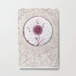 Dreams are like seeds Metal Print