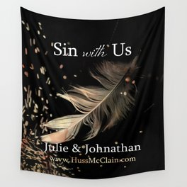 Sin With Us Wall Tapestry