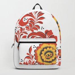 Flowers khokhloma Backpack