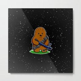 Galactic Teddy Bear Metal Print