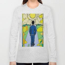 Aaron  Alter `Solar Rays'              by Kay Lipton Long Sleeve T-shirt