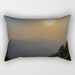 Himalayan Sunset Rectangular Pillow