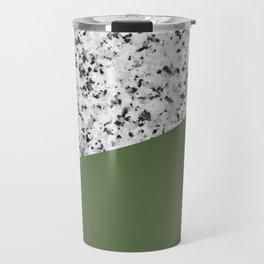 Granite and Kale Color Travel Mug