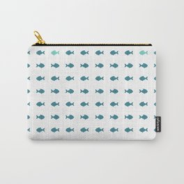 blue fishes Carry-All Pouch