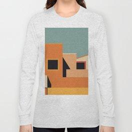 Summer Urban Landscape Long Sleeve T-shirt