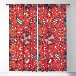 Lakai Suzani Samarkand Uzbekistan Embroidery Print Blackout Curtain