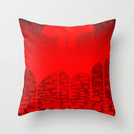Killer Street Throw Pillow