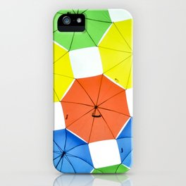umbrellas 1.0 iPhone Case