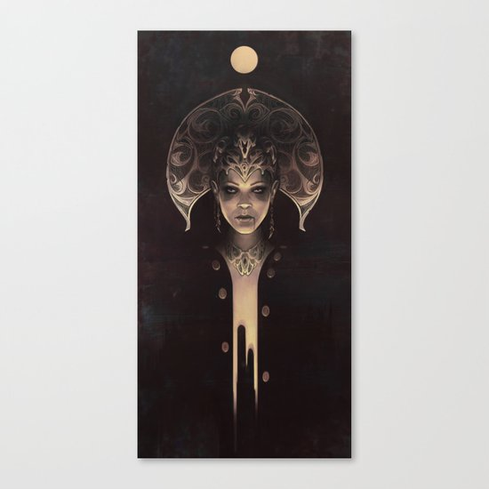 Forgotten goddess Canvas Print