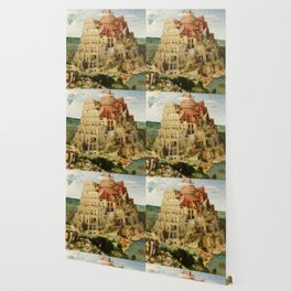 The Tower of Babel 1563 Wallpaper