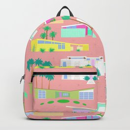 Palm Springs Houses Backpack