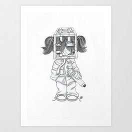 Comitted Art Print