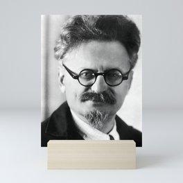 Leon Trotsky Portrait Mini Art Print