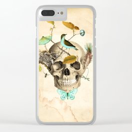 Returned to the earth Clear iPhone Case