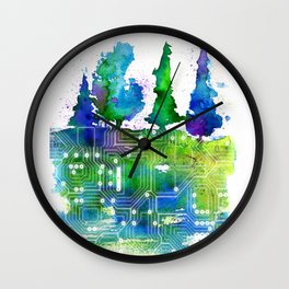Conection Wall Clock