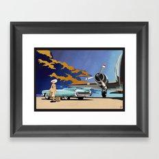 Cadillac Eldorado Biarritz 1959 Framed Art Print