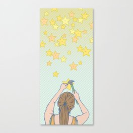 Until the Stars Fall from the Sky Canvas Print