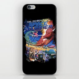 Space Harrier iPhone Skin