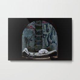Bonne Nuit // Goodnight Metal Print