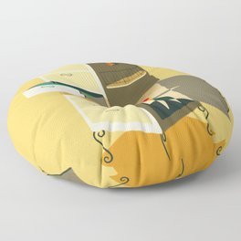 Misunderstandings Floor Pillow