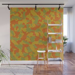 Camouflage Autumn Trending Colors Wall Mural