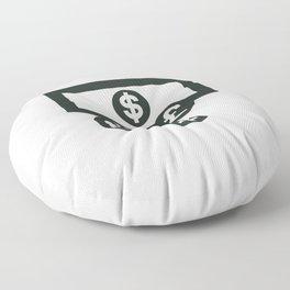 Money Floor Pillow