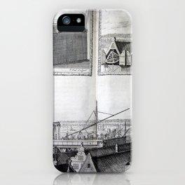 Johannes Hevelius - Celestial Devices, Part 1 - Plate 3 iPhone Case