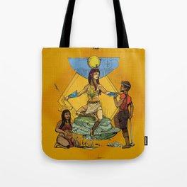 Hathor - Ancient Egyptian Goddess of Fertility Tote Bag