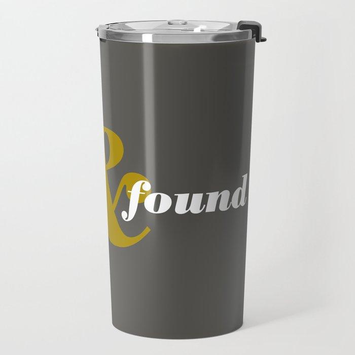 17 Lost and found Travel Mug