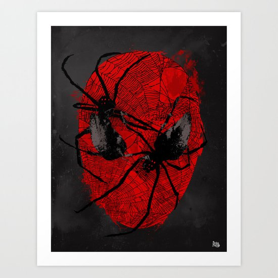 Crawly Eyes Art Print
