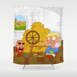 Rumpelstiltskin Shower Curtain
