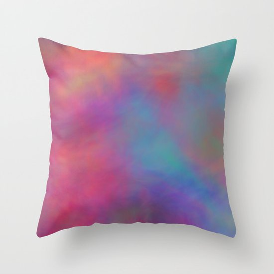 Romantic Sky Throw Pillow