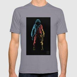Astronauta del color T-shirt